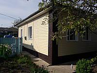 Сайдинг Stone House Кирпич коричневый