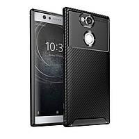 Чехол Carbon Case Sony Xperia XA2 Черный