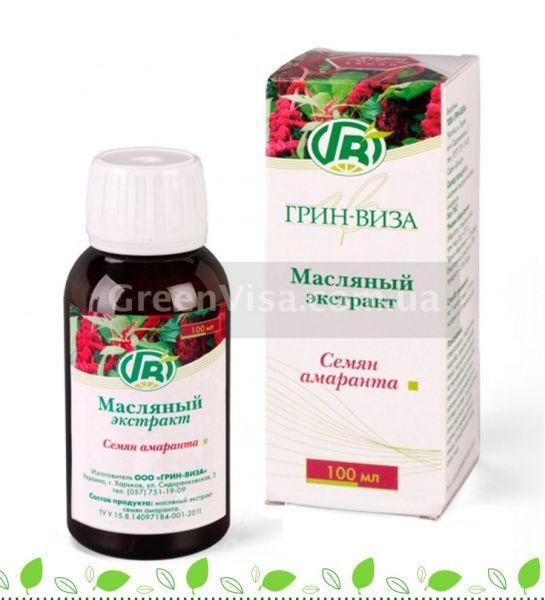 Масляный экстракт семян амаранта 100мл.