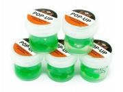 Горох силиконовый G.Stream Pop-Up зеленый с запахом конопли