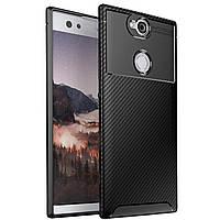 Чехол Carbon Case Sony XA2 Plus Черный