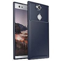 Чехол Carbon Case Sony Xperia XA2 Plus Синий