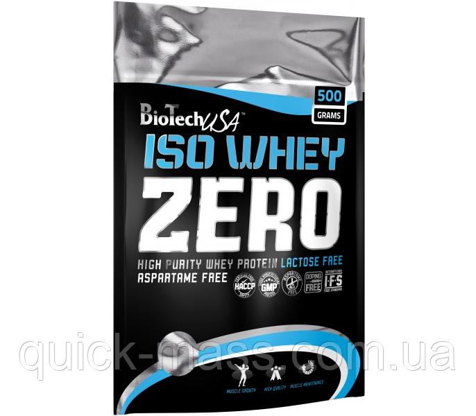 Протеїн Iso Whey Zero Biotech USA 500g