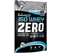 Протеин без сахара Iso Whey Zero Biotech USA 500g
