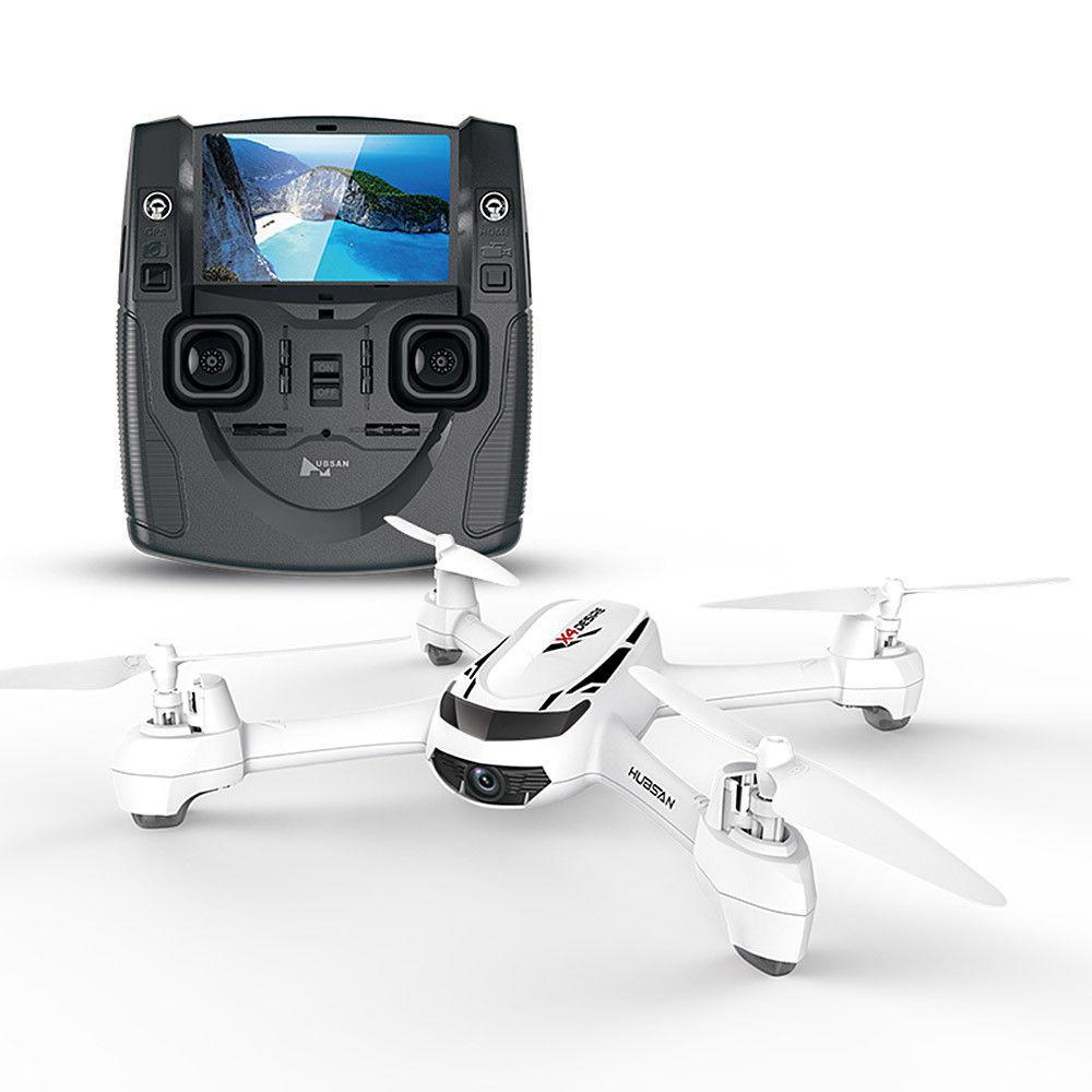 Квадрокоптер Hubsan H502S FPV c HD камерой, GPS и монитором 4.3