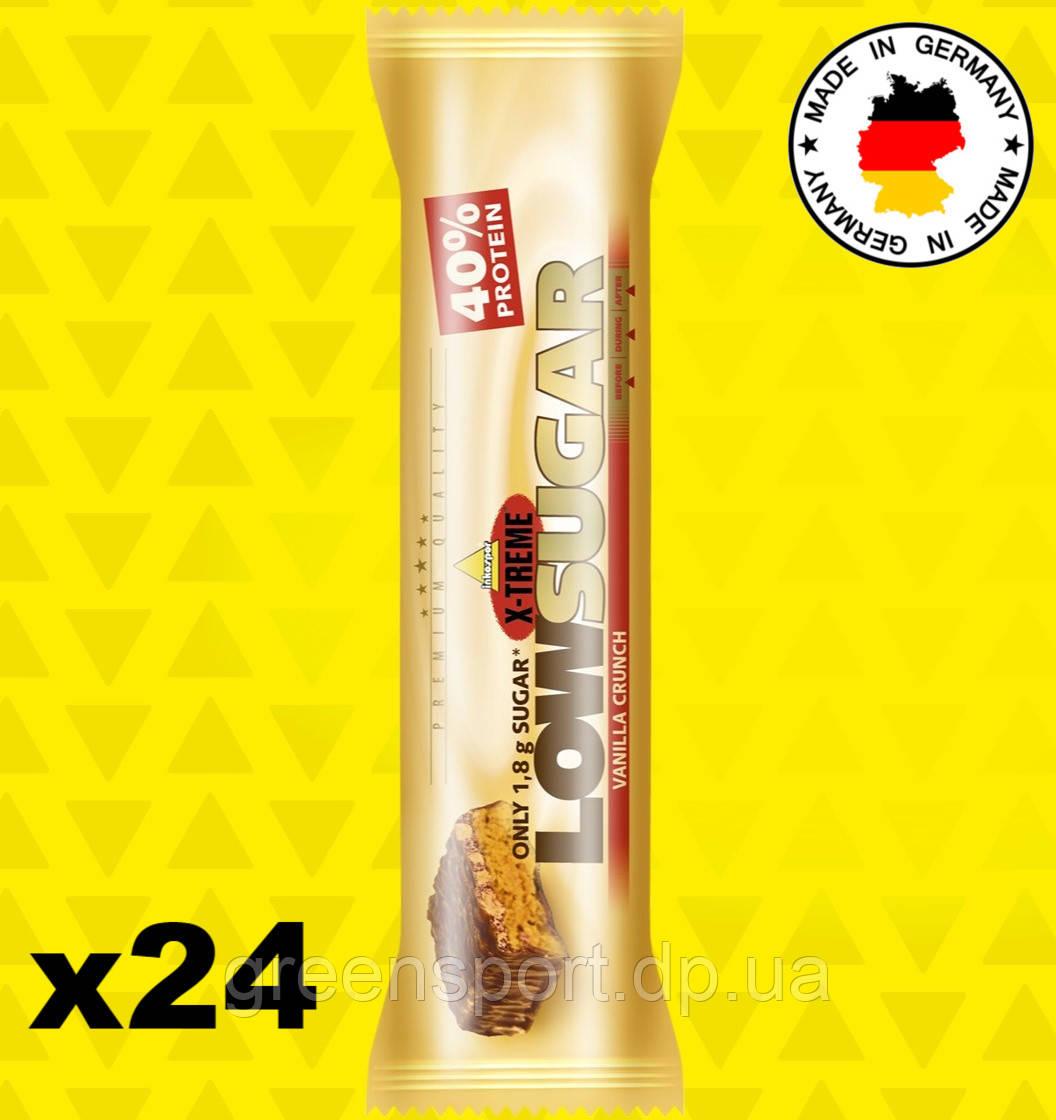 Протеиновые батончики Inkospor X-Treme Low Sugar Ваниль 24x65 г