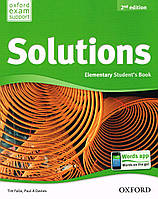 Solutions Elementary 2 Edition Student's Book, e-book - buy in-App