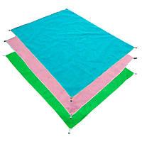 Пляжная подстилка Анти-песок Sand Free (БЕЗ ВЫБОРА ЦВЕТА) 200X150 см