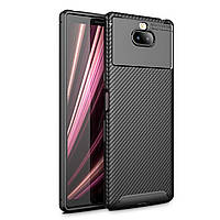 Чехол Carbon Case Sony Xperia 10 Черный
