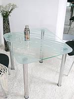 Обеденный стол Maxi Dt r 800/710 (1) матовый с рисунком
