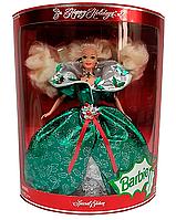 Колекційна лялька Барбі Barbie 1995 Happy Holidays Barbie Special Edition Mattel 14123, фото 1