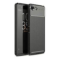 Чехол Carbon Case Sony Xperia XZ4 Compact Черный