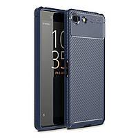 Чехол Carbon Case Sony Xperia XZ4 Compact Синий