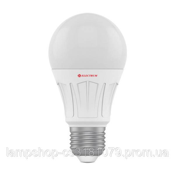 Лампа светодиодная стандартная LS-V10 12W E27 4000K алюмопл. корп. A-LS-1427