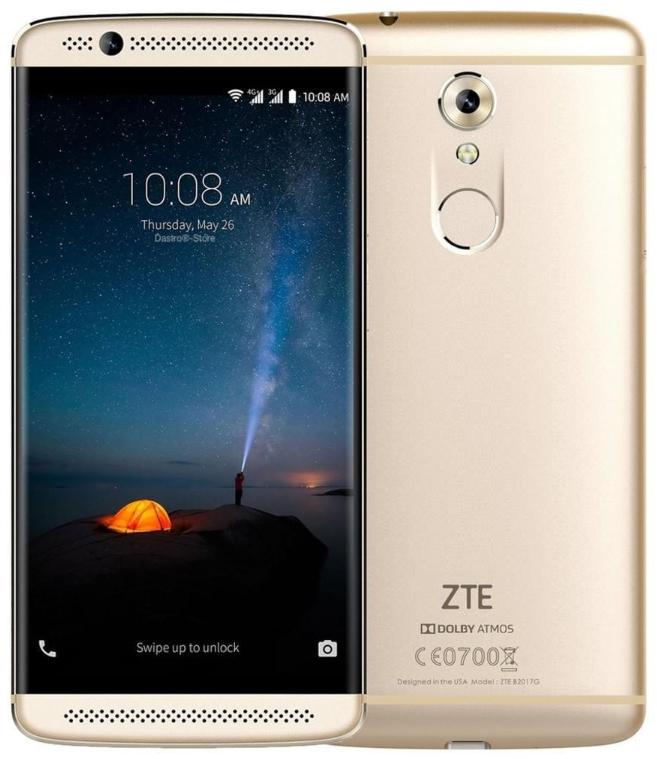 ZTE Axon 7S 4/128 Gb Gold, NFC
