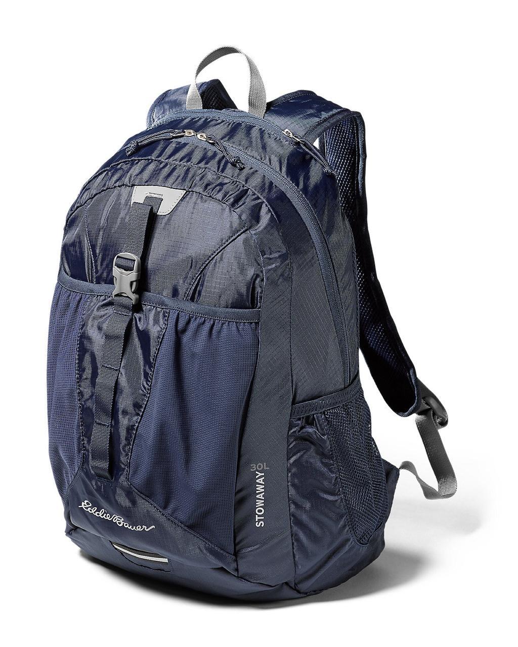 Рюкзак Eddie Bauer Stowaway Packable Backpack 30L Navy