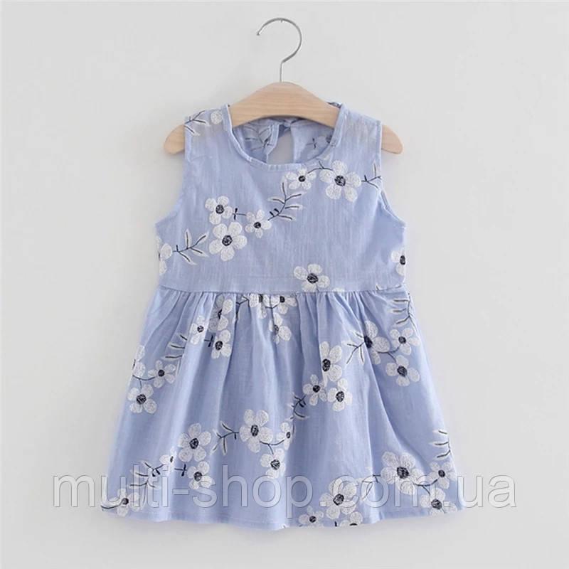 Летнее платье для девочки София