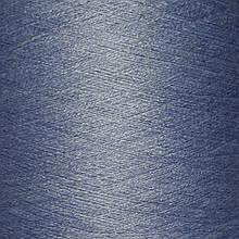 50% хлопок, 50% акрил BLUE - бобинная пряжа для машинного и ручного вязания