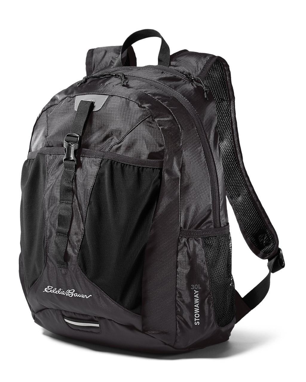 Рюкзак Eddie Bauer Stowaway Packable Backpack 30L Onyx