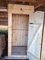Душ дерев'яний економ, фото 1