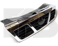 Решетка радиатора Daewoo Nexia -08 черная хромированная (FPS)