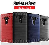 TPU чехол накладка Urban для HTC Exodus 1 (4 цветов)