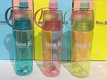 Бутылка стеклянная NEW.B 600ML MOD-DF-078 (60 шт)