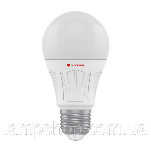 Лампа светодиодная стандартная LS-V10 10W E27 3000K алюмопл. корп. A-LS-1519