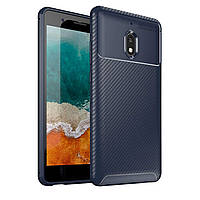 Чехол Carbon Case Nokia 2.1 Синий