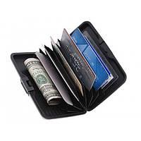Алюминиевый бумажник для кредиток Aluma Wallet Алюма Уолет