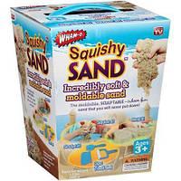 Інтерактивна іграшка Кінетичний Пісок Squishy Sand іграшка для ліплення пластилін