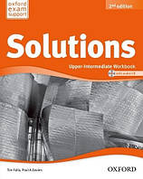 Solutions Upper-Intermediate 2 Edition Workbook and Audio CD Pack