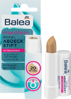 Balea Soft & Clear Abdeckstift Fb. 20 - Маскирующий антибактериальный карандаш тон 20 Натуральный, 4,5 г