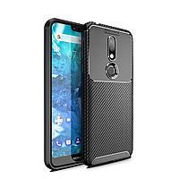 Чохол Carbon Case Nokia 7.1 Чорний
