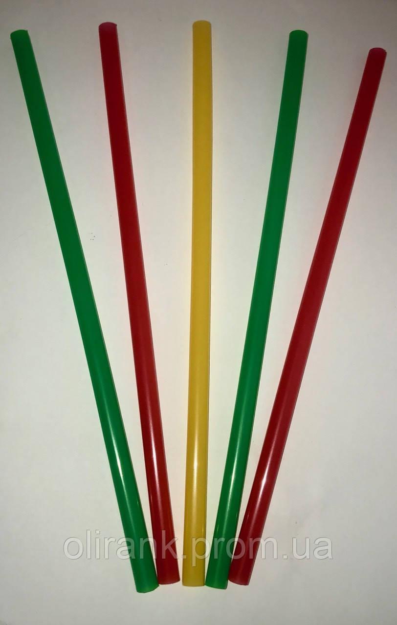 Соломка ФРЕШ  д/напитков прямая d=8 мм L=250мм, 500 шт (10уп в ящ)