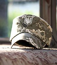 """Кепарик """"Мазепинка з гербом""""   Ukrpixel ріп-стоп, фото 3"""