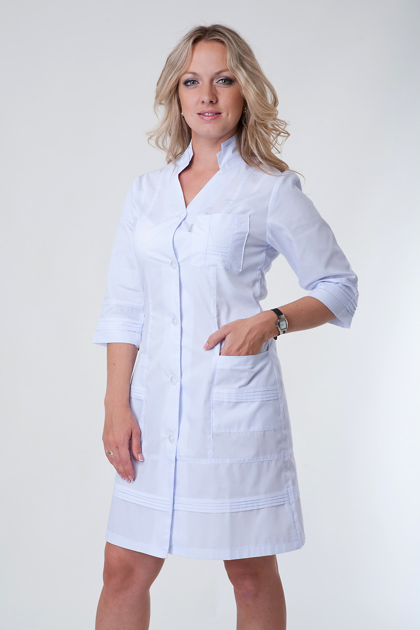Медицинский халат 2131 (батист)
