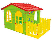Домик для детей с террассой XXL Mochtoys-06
