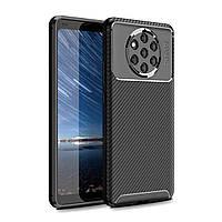 Чехол Carbon Case Nokia 9 Pureview Черный