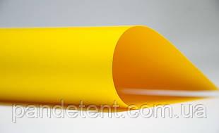 Тенти, тентові ПВХ укритя, накидки, тентова тканина-жёлтая ПВХ 650 г/м² SIOEN (Бельгія)