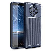 Чехол Carbon Case Nokia 9 Pureview Синий