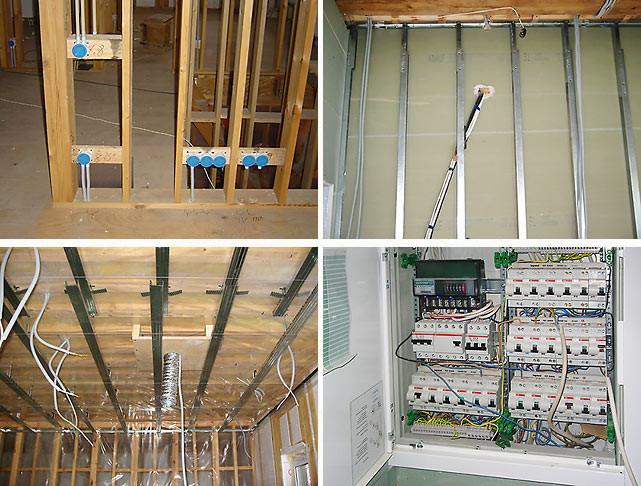 Разводка электрики по квартире цена