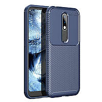 Чехол Carbon Case Nokia 4.2 Синий