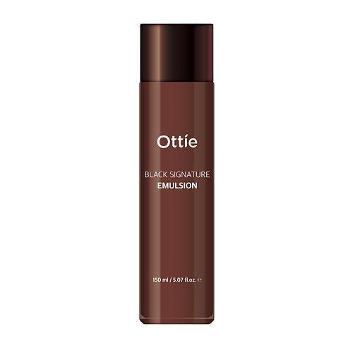 Эмульсия для лица с муцином улитки омолаживающая Ottie Black Signature Emulsion - 150 мл