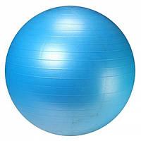 Фитбол с насосом LiveUp Ø 55см Anti-Burst Синий ( LS3222-55b )