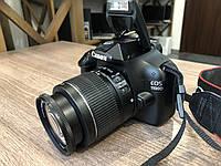 Дзеркальний фотоапарат Canon EOS 1100D 18-55 IS II KIT Black, фото 1