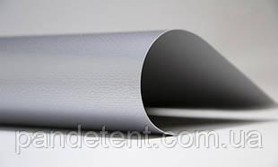 Ткани с покрытием ПВХ  тентовые 650 г/м² -металлик