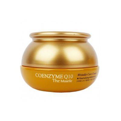 Антивозрастной омолаживающий крем для лица с коэнзимом Q10 Bergamo Coenzyme Q10 Wrinkle Care Cream