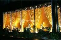 Новогодние гирлянды на елку, уличные гирлянды на фасад, снежинки и звезды, световые фигуры
