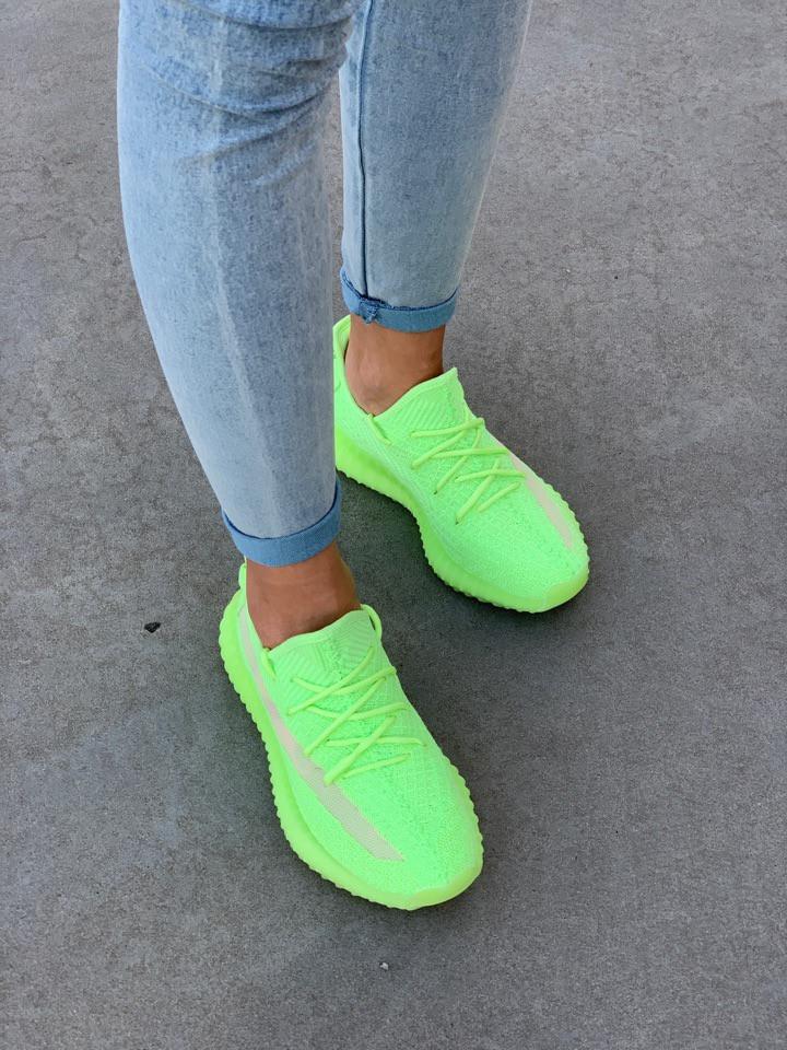 differently c031b 26e5a Adidas YEEZY BOOST 350 Neon Green - Bigl.ua